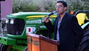 Entrega de Tractores en Tunuyán